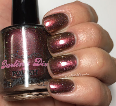 Darling Diva Polish The Force Collection; Sith Lady