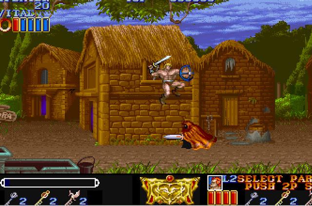 Magic Sword 1993 Screenshot