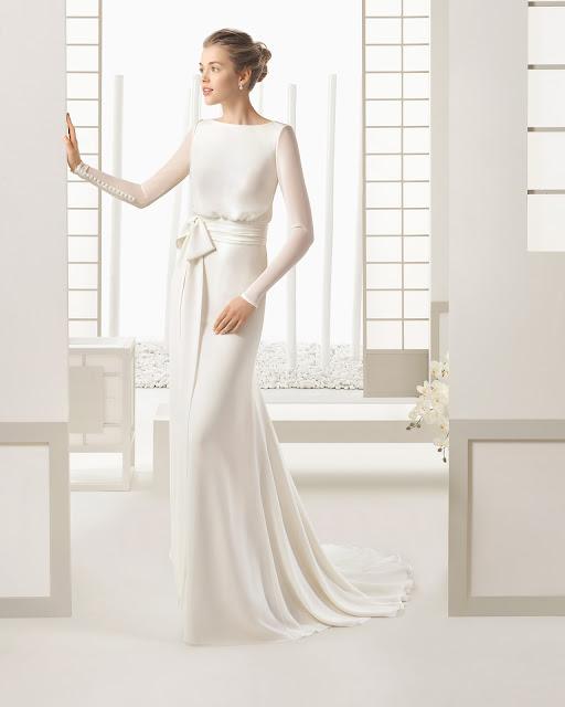 Rosa Clara 2016 modelo Sal - vestido novia manga larga - Blog de Bodas