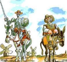 Sancho y Quijote