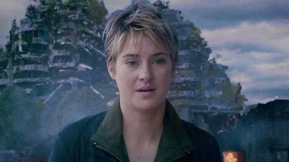 """Shailene Woodley stars in """"Insurgent"""""""