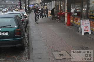 Geisterradler in der Hudtwalckerstraße