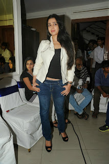 Actress Charmi Kaur Pictures in Jeans at One by Two Movie Celetes 20 Years Event  0160