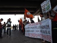 Aksi Tolak Sumpah Pemuda Gema Pembebasan Kota Makassar