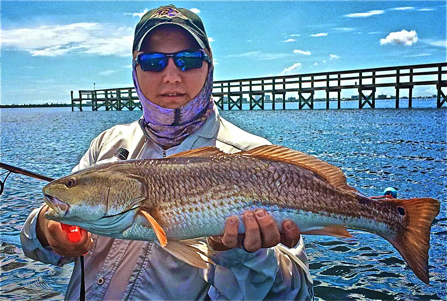On foot angler from whites tackle ft pierce stuart for Fort pierce fishing