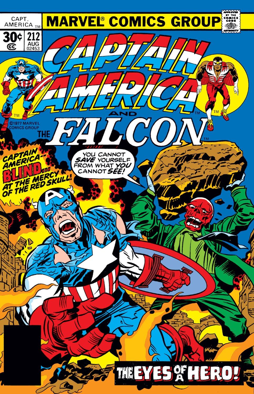 Captain America (1968) Issue #212 #126 - English 1
