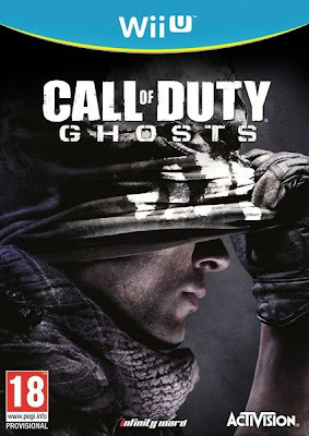 Box art for Wii U version of Call of Duty: Ghosts