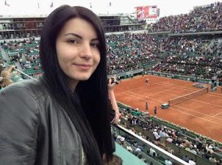 Elena Partac à Roland-Garros