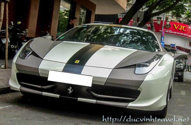 Ngắm xế Ferari 458 Italy độc nhất tại Việt Nam