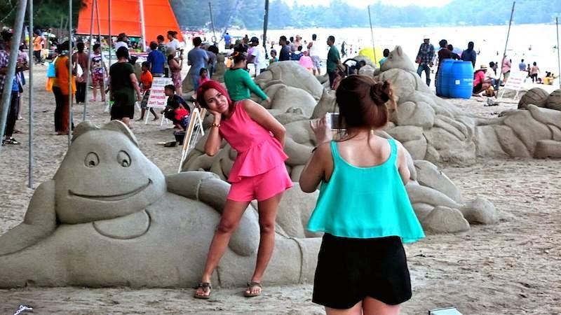Sand Sculpture Ban-Krut