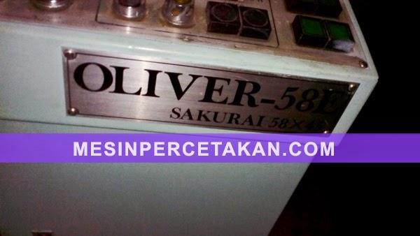 Oliver 58E
