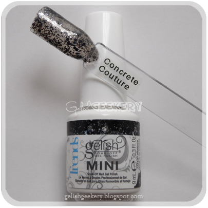Gelish Trends Swatch: Concrete Couture