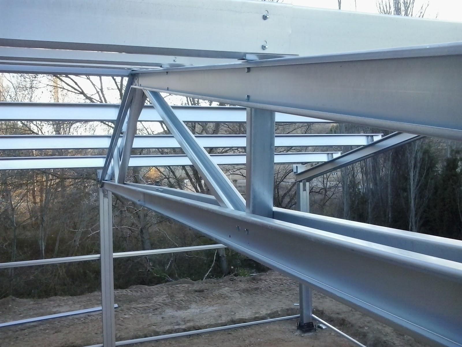 Nave ganadera prefabricada nave gallinero montamos - Estructuras metalicas prefabricadas ...