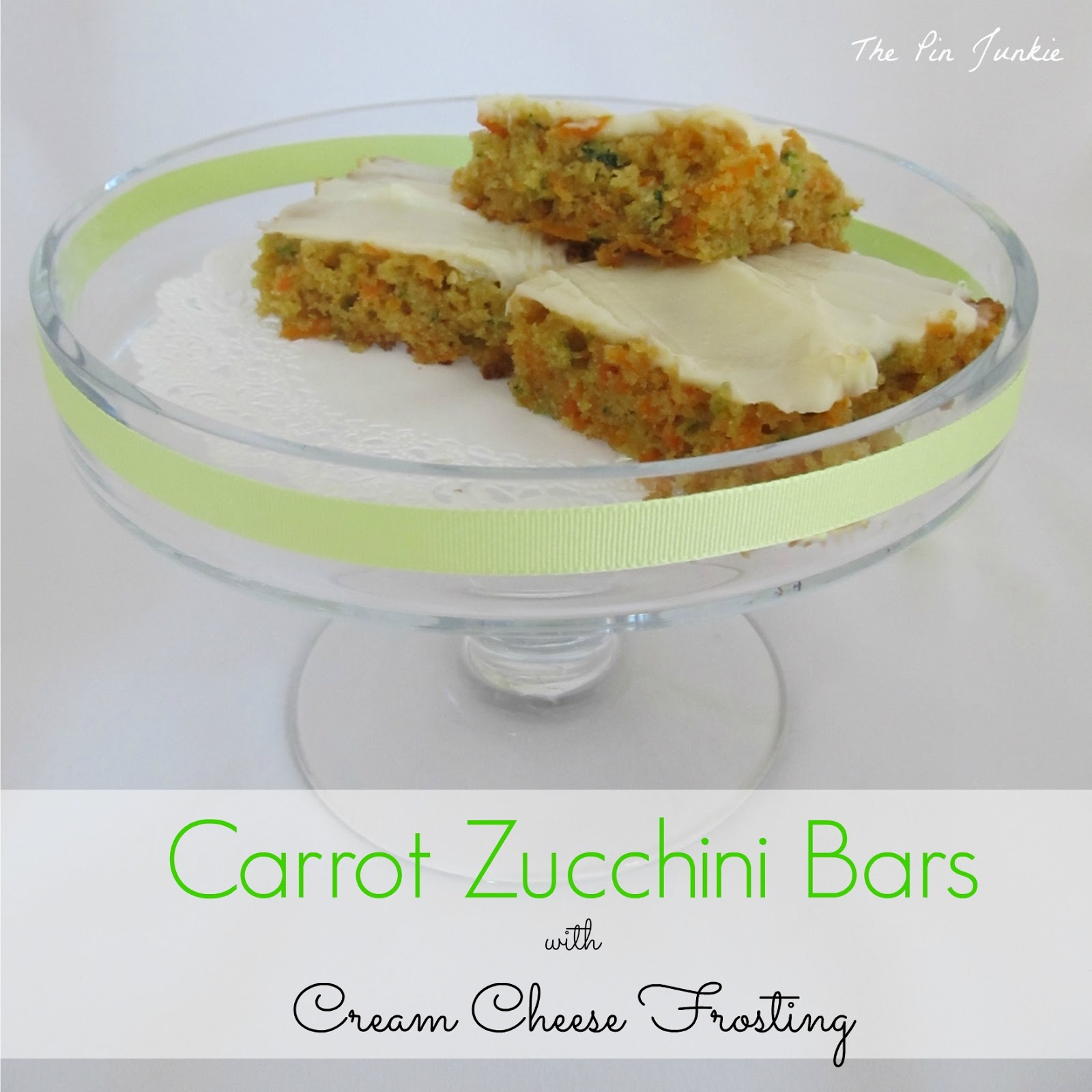 Inspired by this pin for chocolate zucchini cake .
