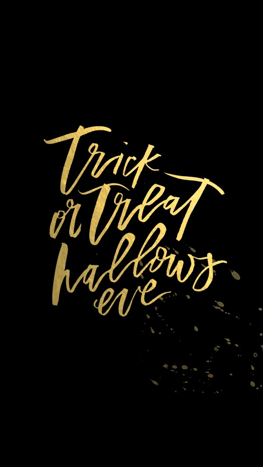 Trick Or Treat Halloween  Galaxy Note HD Wallpaper