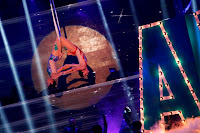 Anne and Karylle in aerial hoop