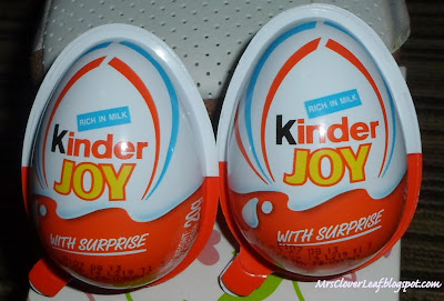 Chocolate Surprise with Kinder Joy!