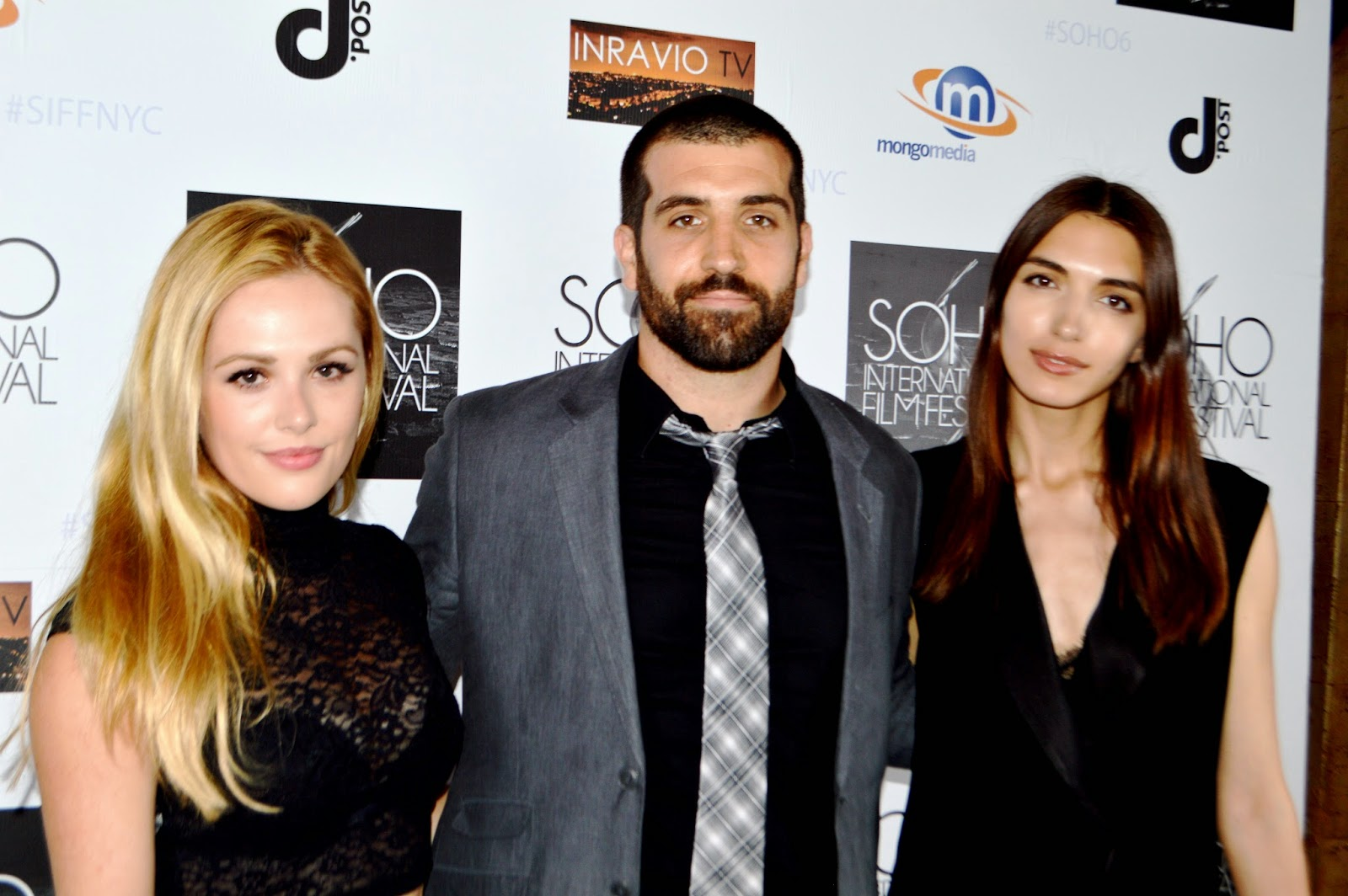 lucky number movie screening at the soho film festival a daze in natalie hall michael d lynch and carme boixadera