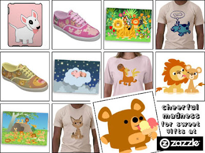 Cheerful Madness at Zazzle