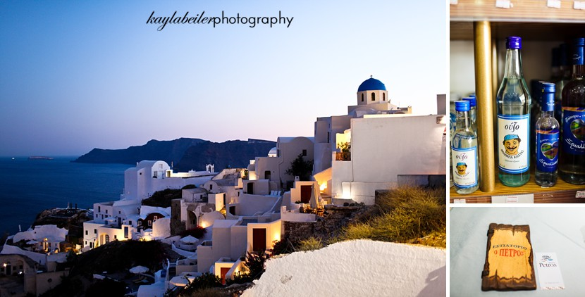 fira santorini greece photo