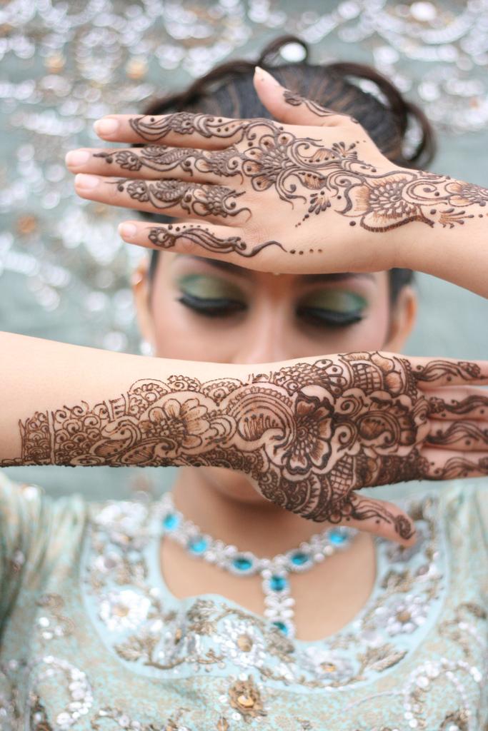 Mehndi Makeup Design : New mehndi designs for hands fashion pakistan