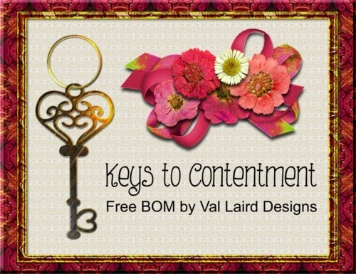Keys to Contentment BOM