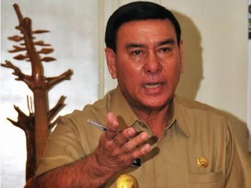 Gubernur Lampung Sjachroedin ZP (Tribunnews.com)