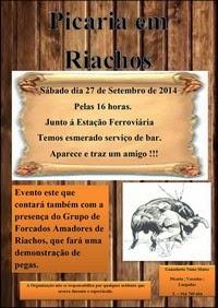 Riachos- 27 Setembro (16h-Sábado)