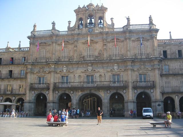 Por Espanha... Salamanca