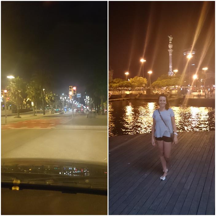 palmy,barcelona nocą,polishgirl,jak wygląda barcelona,hiszpania