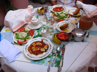Santiago de Cuba breakfast from Fidelia