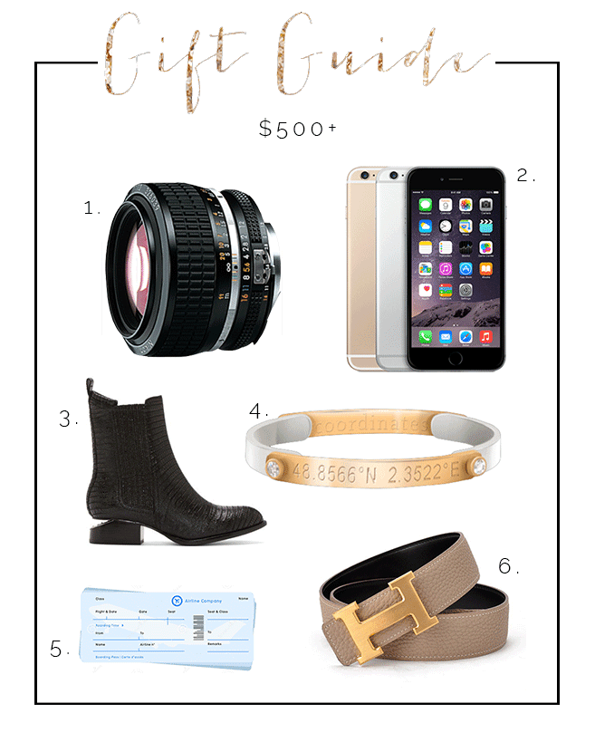 Holiday Gift Guide: $500+