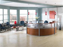 Modern Reception Furniture Configuration