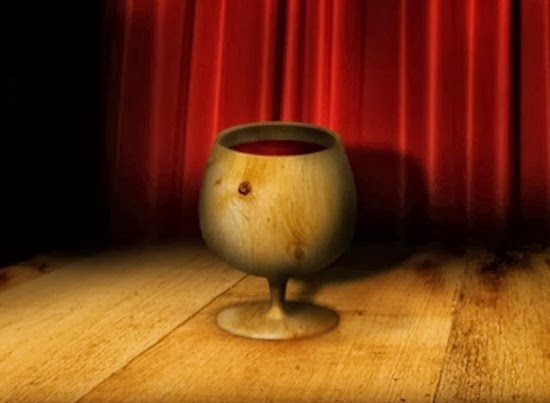 How to Render a Dramatic 3D Wood Cup in Photoshop