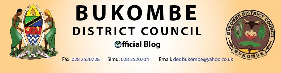 Karibu Wilaya ya Bukombe