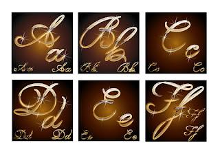 حروف-ذهبية