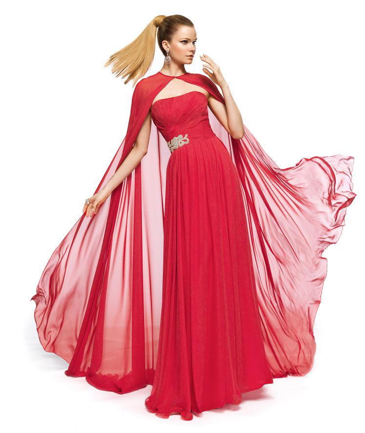 Excelente Vestidos De Dama De Estilo Griego Cresta - Colección del ...