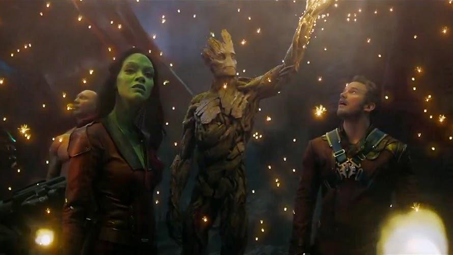 Guardians of the Galaxy Zoe Saldana