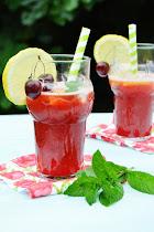 La burrica recomienda: Limonada de cerezas!!!