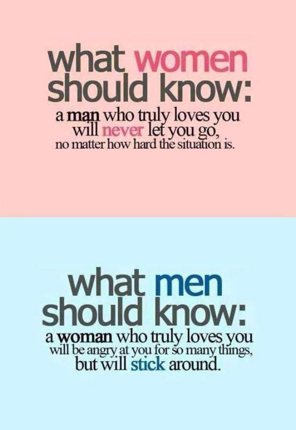 Truth: Men vs Women