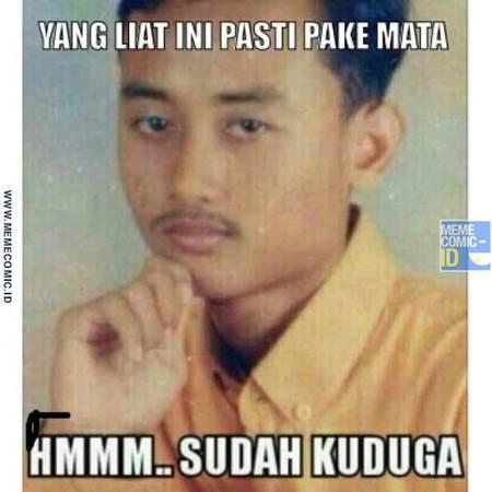 Koleksi Meme Hmmm Sudah Kuduga dari Sososk Pria Bernama Dion Cecep Supriadi