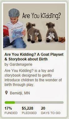 https://www.kickstarter.com/projects/1889313416/are-you-kidding-a-goat-playset-and-storybook-about?ref=live