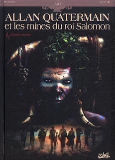 cover Allan Quattermain tome 1