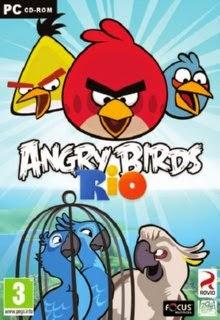 Angry Birds Rio Cover Art
