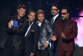 Backstreet boys at AMA 2012