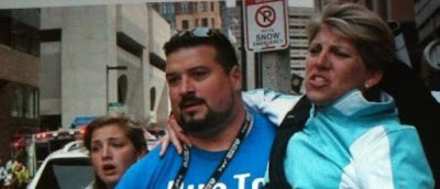 Joe Andruzzi and Marathon tragedy victim