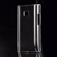 Clear Crystal Case Cover for LG Optimus L3 E400