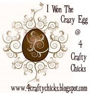 4 Crafty Chicks Crazy Egg Awaard