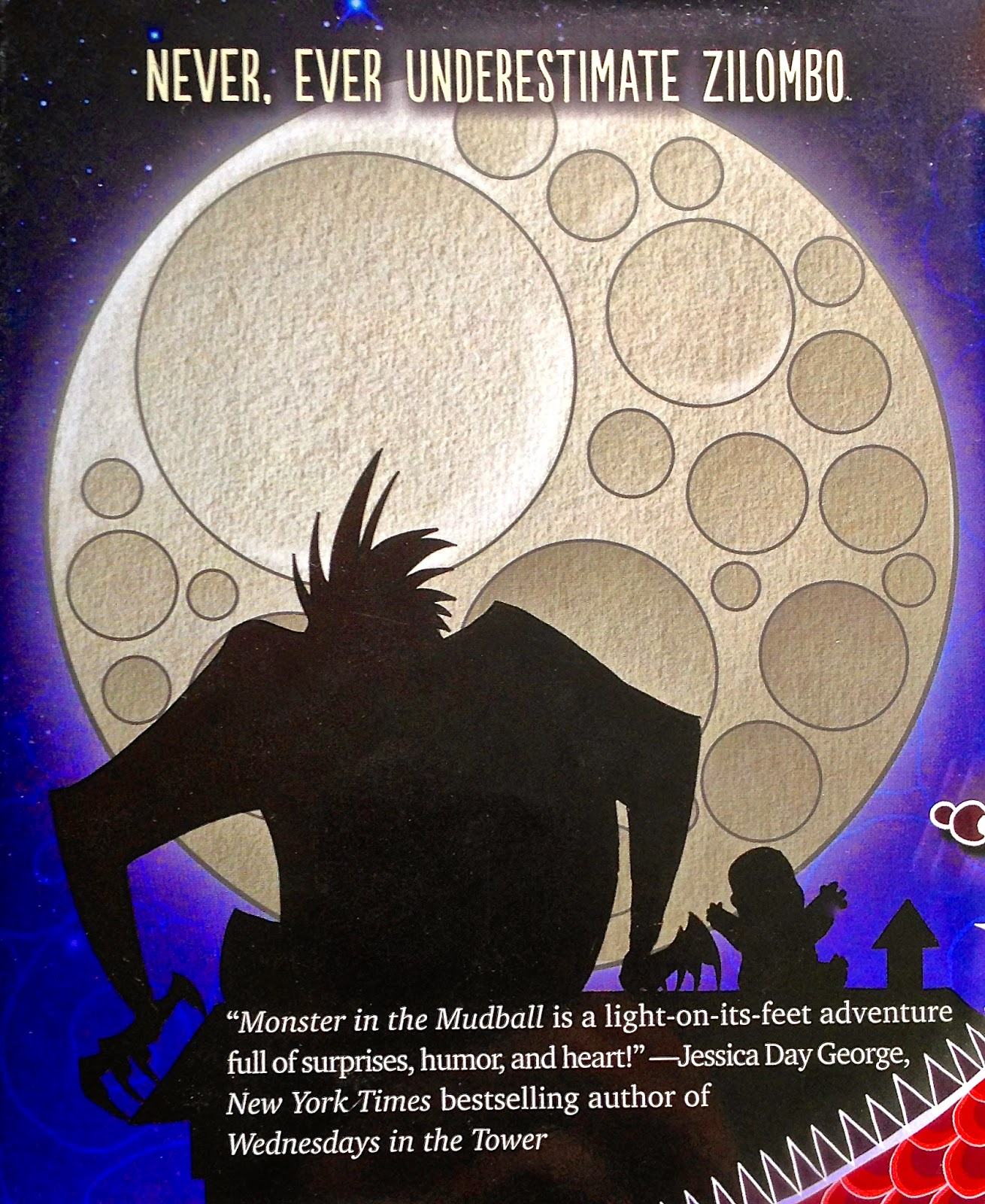 Monster in the Mudball back cover