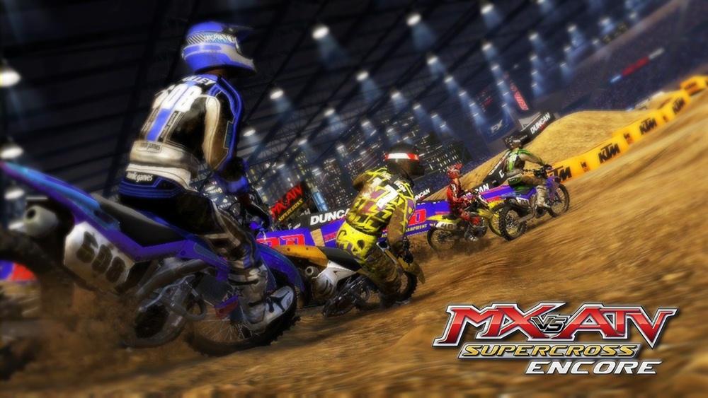 MX vs ATV Supercross Encore Edition Download Poster